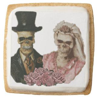 The Happy Couple Square Shortbread Cookie