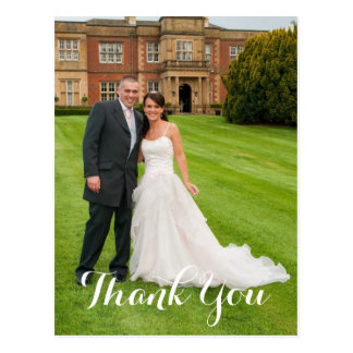 The Happy Couple Wedding Gift Thank You Postcard