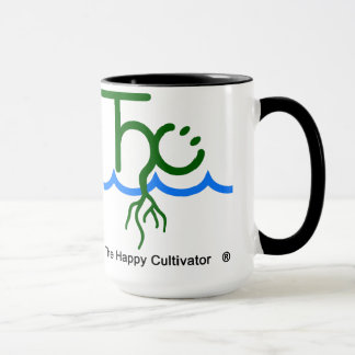 The Happy Cultivator Mug 2x logo