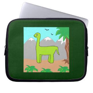 The Happy Dinosaur Laptop Computer Sleeve