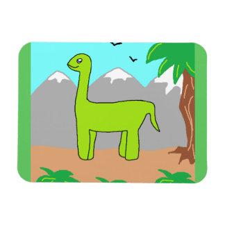 The Happy Dinosaur Magnet