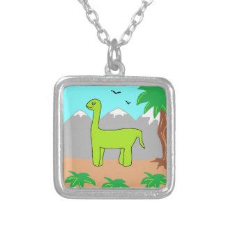 The Happy Dinosaur Necklace