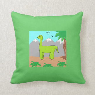 The Happy Dinosaur Pillows