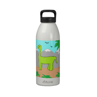 The Happy Dinosaur Water Bottles