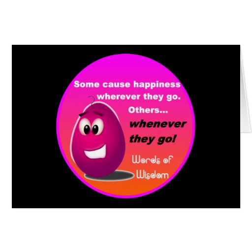The Happy Egg Head Wisdom Products Card