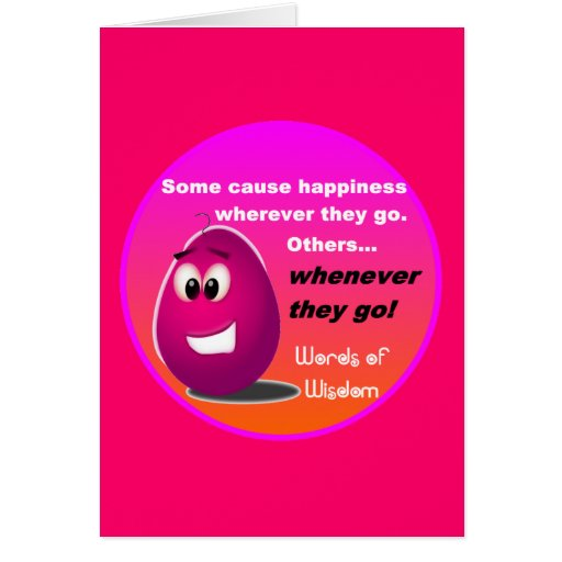 The Happy Egg Head Wisdom Products Greeting Cards