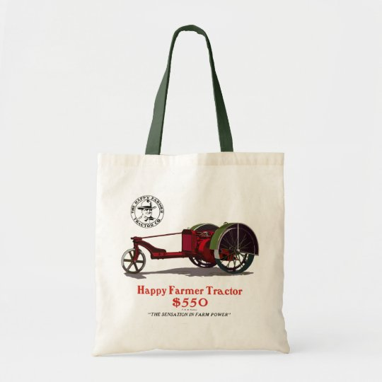 The Happy Farmer Tote Bag
