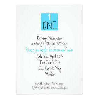 The Happy FIRST Birthday Invitation