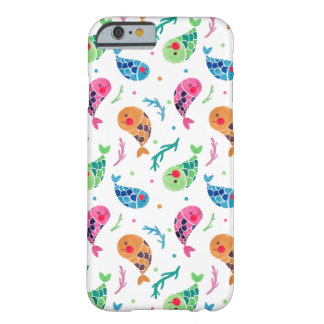 The Happy Fish Pattern Barely There iPhone 6 Case