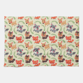 The Happy Forest Friend Hand Towel
