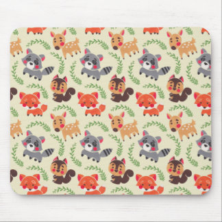 The Happy Forest Friend Mouse Pad