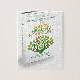The Happy, Healthy Nonprofit 3D Cover Jigsaw Puzzle