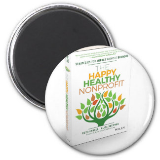 The Happy, Healthy Nonprofit 3D Cover Magnet