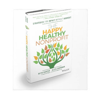 The Happy, Healthy Nonprofit 3D Cover Notepad