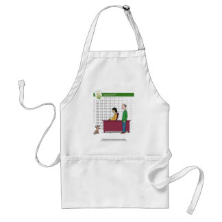 The Happy, Healthy Nonprofit Cartoon Aprons