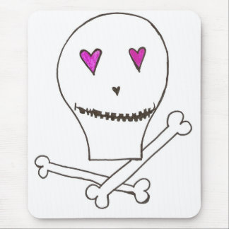 The Happy, Jolly Roger Mouse Pad