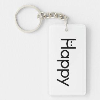 The Happy Key :) Keychain