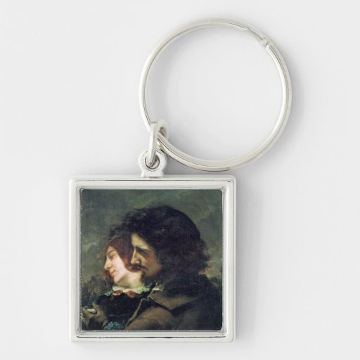 The Happy Lovers, 1844 Key Chain