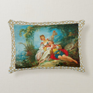 The Happy Lovers Accent Pillow