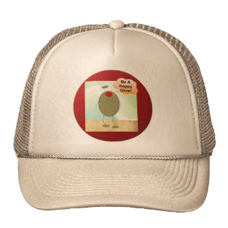 The Happy Olive Trucker Hat