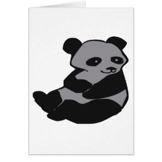 THE HAPPY PANDA GREETING CARD