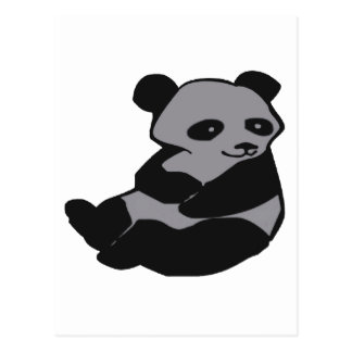THE HAPPY PANDA POSTCARD