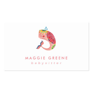 The Happy Pink Whale Business Card