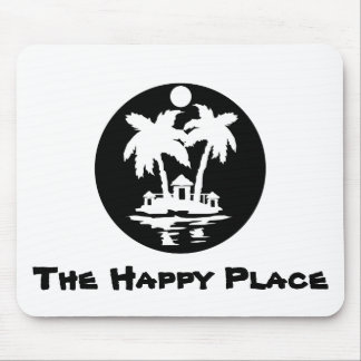 The Happy Place Mouse Pad