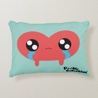The Happy/Sad Harto Pillow Accent Pillow