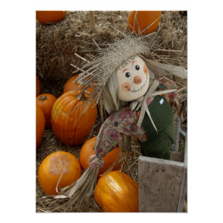 The Happy Scarecrow Posters