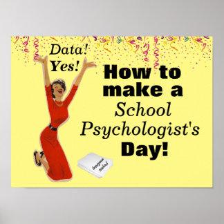 The Happy School Psychologist Poster