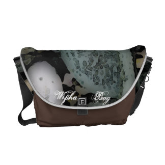 The happy Stone Face Bag Courier Bag