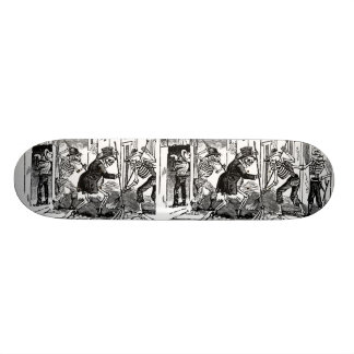 """The Happy Street Cleaner Calaveras"" Skateboard"