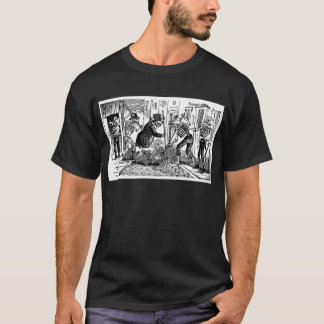 """The Happy Street Cleaner Calaveras"" T-Shirt"