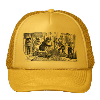 """""""The Happy Street Cleaner Calaveras"""" Trucker Hat"""