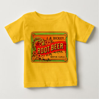 THE HAPPY TODDLER ICE CREAM PARLOR ROOT BEER BABY T-Shirt