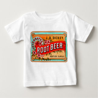 THE HAPPY TODDLER ROOTE BEER SHIRT! VINTAGE ART BABY T-Shirt