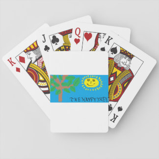 """""""The Happy Tree"""" playing cards"""