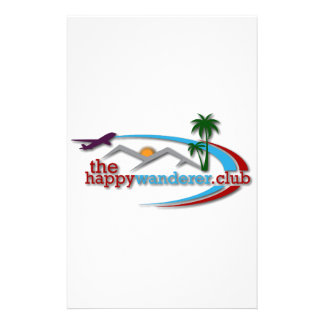 The Happy Wanderer Club Stationery