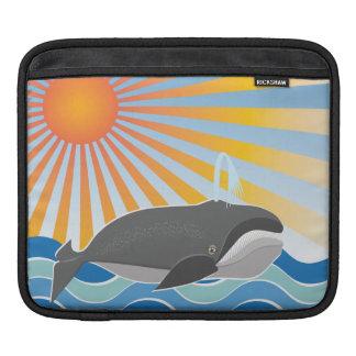 The Happy Whale iPad Sleeves