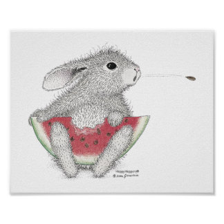 The HappyHoppers® Wall Art Poster