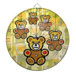 The HappyTeddy Bears. Dart Board