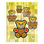 The HappyTeddy Bears. Letterhead Design