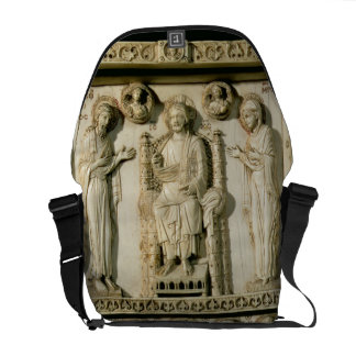 The Harbaville Triptych depicting Christ Enthroned Messenger Bag