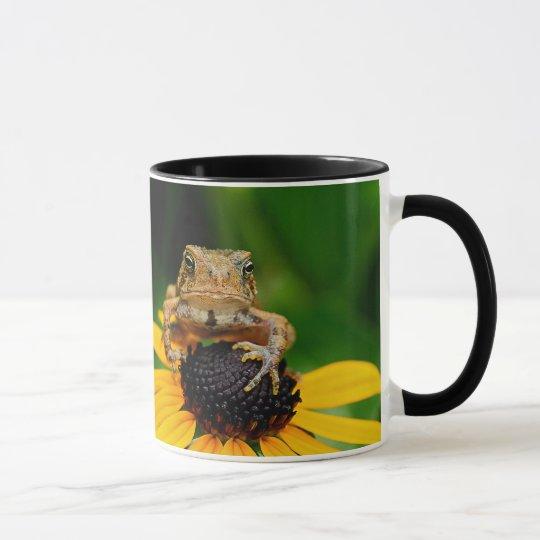 The Harbinger - Toad on Black-Eyed Susan Mug