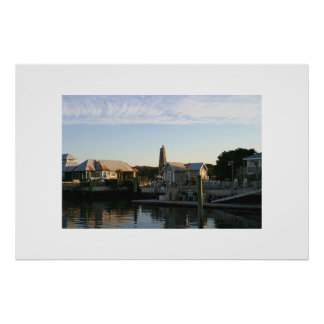 THe Harbor at Bald Head Island Poster