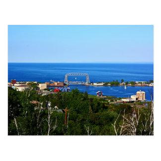 The Harbor from Skyline Postcard