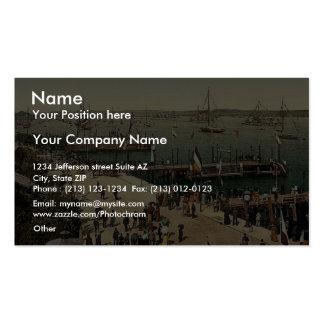 The harbor, III., Kiel, Schleswig-Holstein, German Business Card