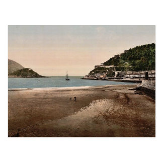 The harbor, San Sebastian, Spain vintage Photochro Postcard