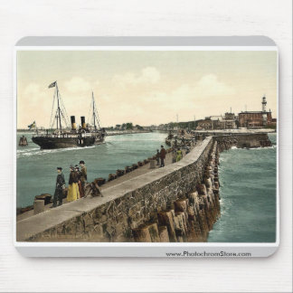 The harbor, Warnemunde, Rostock,Mecklenburg-Schwer Mouse Pad